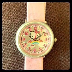 Hello Kitty Flik Flak watch